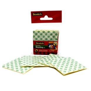 "Supplier ATK Scotch 3M 110-1D Mountingtape Square 1"" Harga Grosir"