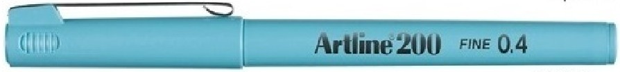 Supplier ATK Artline 200 Writing Pen Light Blue Harga Grosir