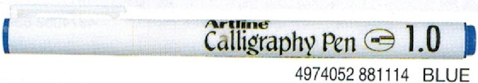 Supplier ATK Artline 241 Caligraphy Pen Biru Harga Grosir