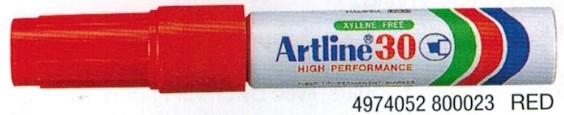 Supplier ATK Artline 30 Spidol Permanent Merah Harga Grosir