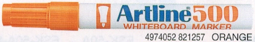 Supplier ATK Artline 500 Spidol Papan Tulis Orange Harga Grosir