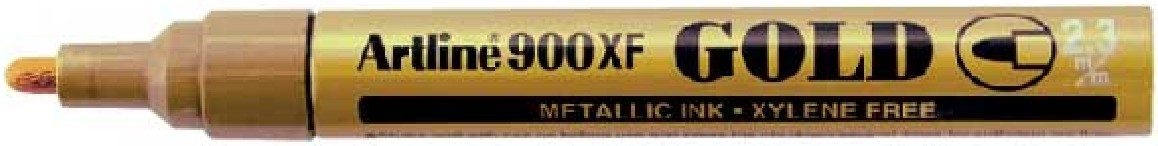 Supplier ATK Artline 900XF Tinta Spidol Metalik Gold Harga Grosir