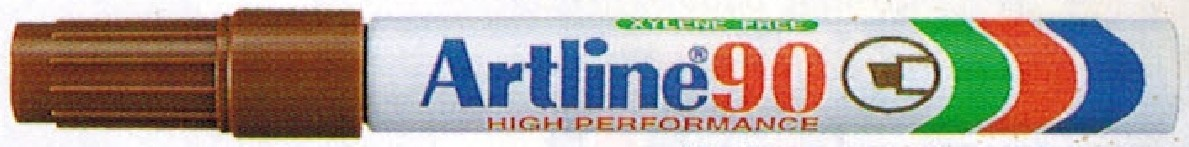 Supplier ATK Artline 90 Spidol Permanent Coklat Harga Grosir