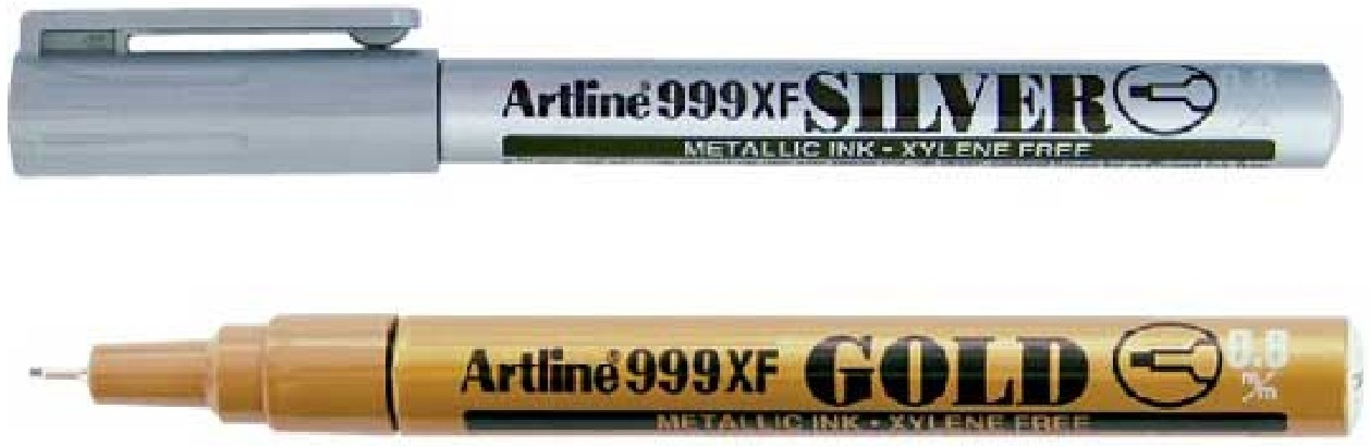 Supplier ATK Artline 999XF Tinta Spidol Metalik Harga Grosir