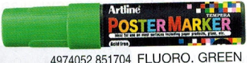 Supplier ATK Artline EPP-12 Poster Marker F.Green Harga Grosir