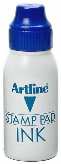 Supplier ATK Artline ESA-2N Tinta Stamp Pad 50 ml Biru Harga Grosir