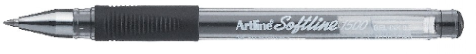 Supplier ATK Artline Softline 1500 Gel Pen Hitam Harga Grosir