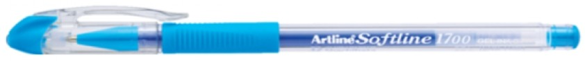 Supplier ATK Artline Softline 1700 Gel Pen Light Blue Harga Grosir