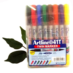 Supplier ATK Artline Twin Marker 041T/8W Harga Grosir