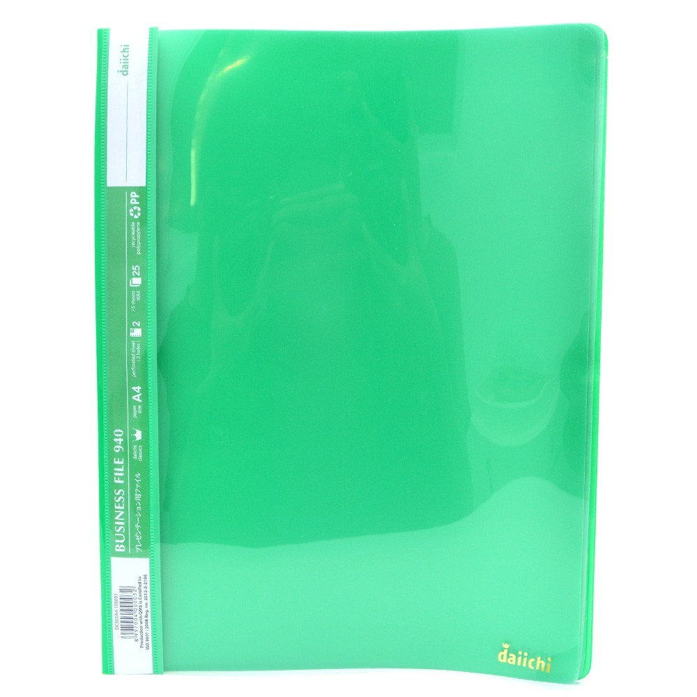 Supplier ATK Daiichi DCS01A4-103001 Business File 940 H A4 Green Harga Grosir