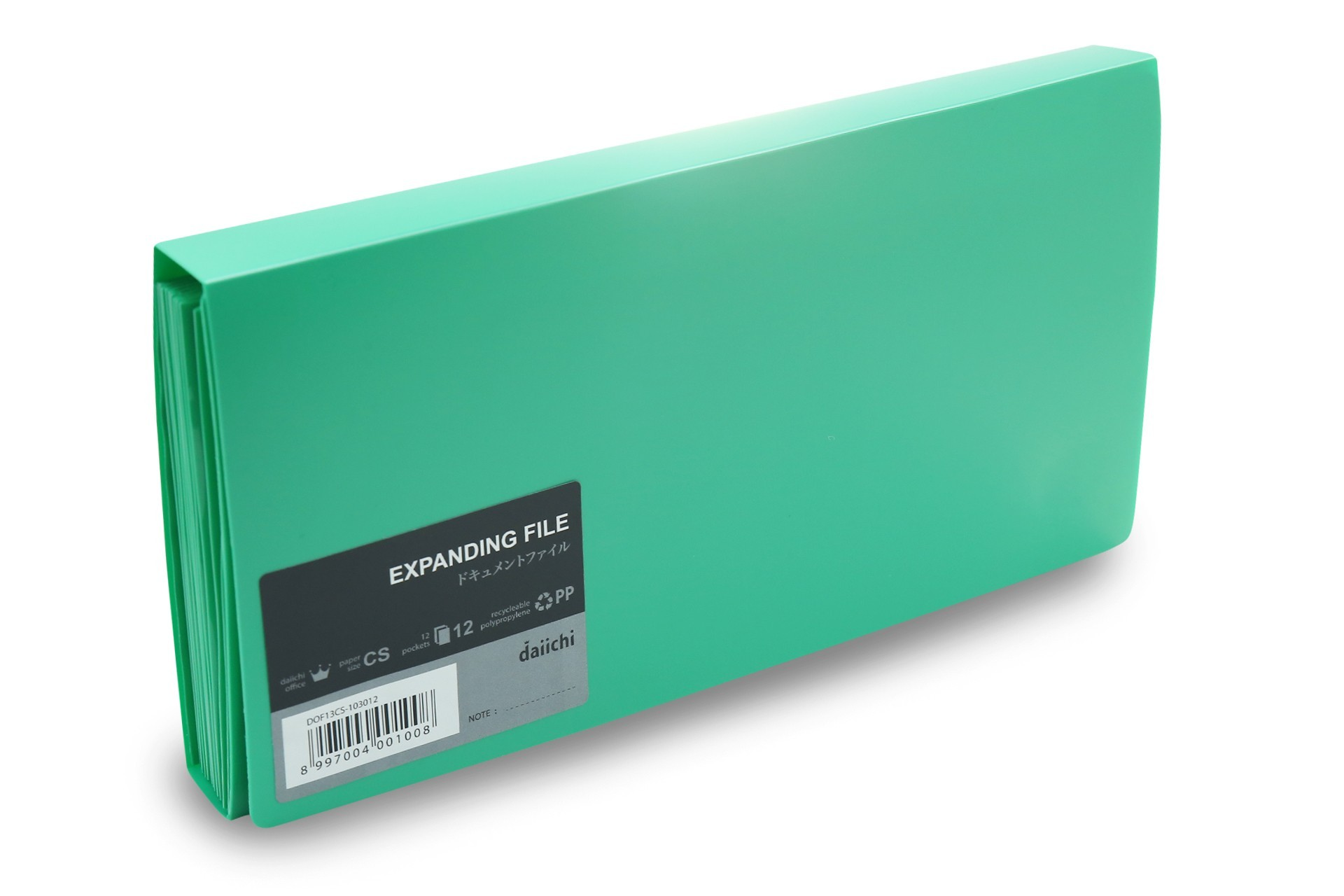 Supplier ATKDaiichi DOF13CS-103012 Expanding File CS(Giro) Green Harga Grosir