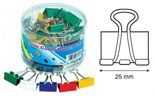 Supplier ATK Joyko Binder Clip 111 CD Harga Grosir