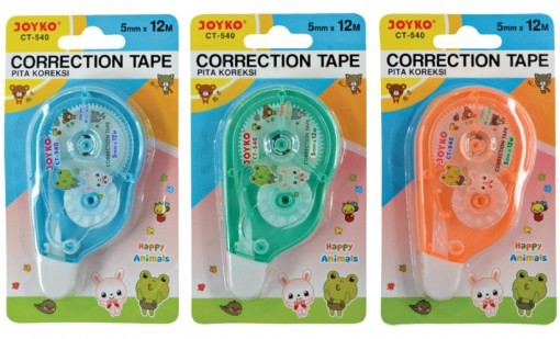 Supplier ATK Joyko Correction Tape CT-540 Harga Grosir