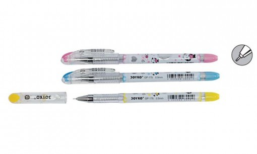 Supplier ATK Joyko Gel Pen GP-175 (Pom-pom) Harga Grosir