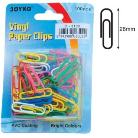Supplier ATK Joyko Paper Clip C-3100 (Warna) Harga Grosir