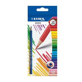 Supplier ATK Lyra 2521120 Pensil Warna Osiris (12 Warna) Harga Grosir