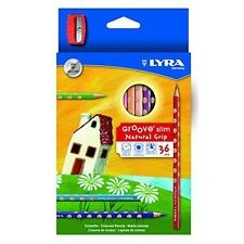 Supplier ATK Lyra 2821360 Pensil Warna Groove Slim (36 Warna) Harga Grosir