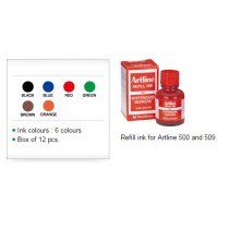 Supplier ATK Artline ESK-50 Refil Tinta Spidol Whiteboard 20 ml Harga Grosir