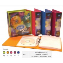 Supplier ATK Bantex 8541-DVD Binder 40mm 2D inc 5's Harga Grosir