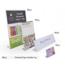 Supplier ATK Bantex 8852-08 Slanted Sign Holder A4 Harga Grosir