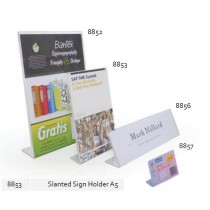 Supplier ATK Bantex 8853-08 Slanted Sign Holder A5 Harga Grosir
