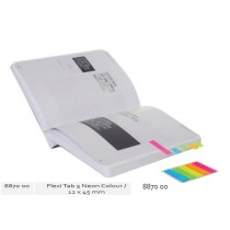 Supplier ATK Bantex 8870-00 Flexi Tab 5 Neon Colours 12x45mm Harga Grosir