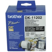 Supplier ATK Brother DK-11202 White Shipping Label (62mm x 100mm) 300 labels Harga Grosir