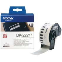 Supplier ATK Brother DK-22211 Continuous Length Film White Tape 29mm (15.24m) Harga Grosir