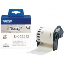 Supplier ATK Brother DK-22212 Continuos Length Film White Tape 62mm (15.24m) Harga Grosir