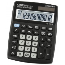 Supplier ATKCitizen Kalkulator CT-600J  (12 Digit)  Harga Grosir