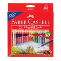 Supplier ATK Faber Castel 115855 Pensil Warna Tri Grip 24 Harga Grosir