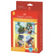 Supplier ATK Faber-Castell 159510A Mulberry Fibre Paint Set (beach) Harga Grosir