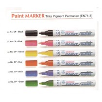Supplier ATK Snowman CP-12 Spidol Paint Harga Grosir