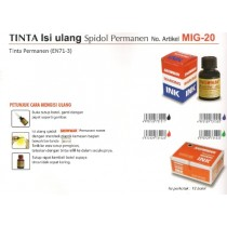Supplier ATK Snowman MIG-20 Tinta Spidol Permanent Harga Grosir